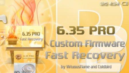 [PSP]Custom Firmware 6.35 PRO-B3 + Fast Recovery-PRO-B3