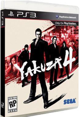 [PS3] Yakuza 4 (2011)