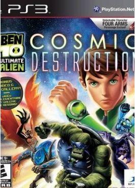 [PS3] Ben 10 Ultimate Alien: Cosmic Destruction (2010)