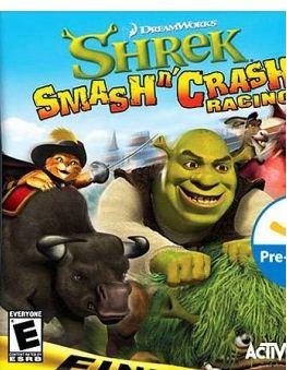 Shrek Smash 'N' Crash Racing (2006) PS2