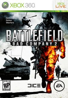 XBox360 Battlefield Bad Company 2