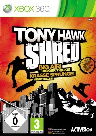[XBOX360] Tony Hawk: Shred [Region Free,ENG]