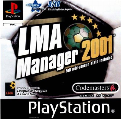 [PS] LMA Manager 2001 [SLES-02975][Kudos][RUS]