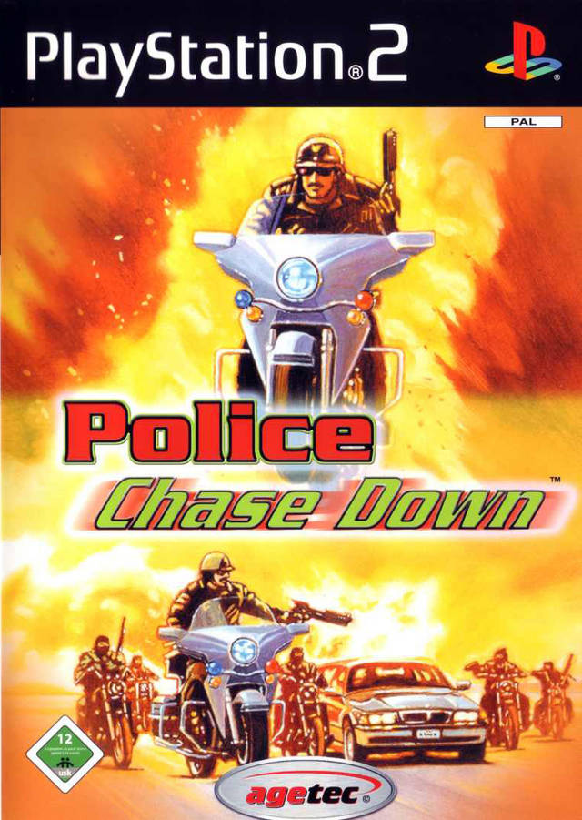 [PS2] Police Chase Down [RUS]