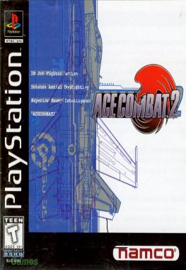 [PS1] Ace Combat 2 [Rus]