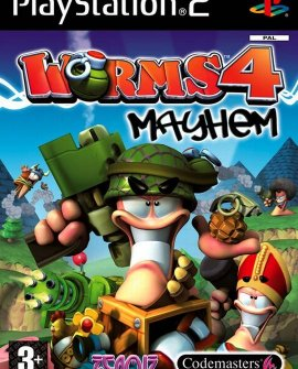 Worms 4 Mayhem (2005) PS2