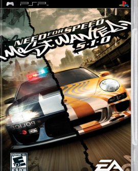 Need for Speed: Most Wanted 5-1-0 (2006) PSP