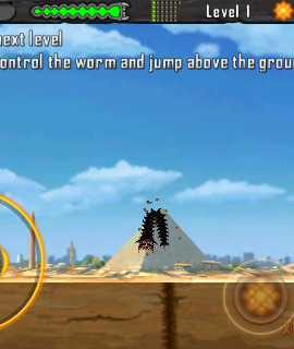 Death Worm для IphoneIpod touch 1.00 [2010, Super Mega Worm]