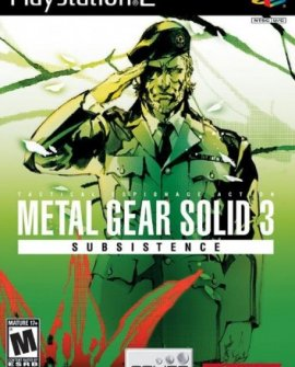 Metal Gear Solid 3: Subsistence [ENG] [PAL] [Subsistence, Persistence, Existence+NAD]