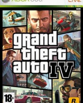 Grand Theft Auto 4 (2008) XBOX360
