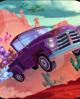 Snuggle Truck [HD+SD] iPhone/ iPod Touch / iPad