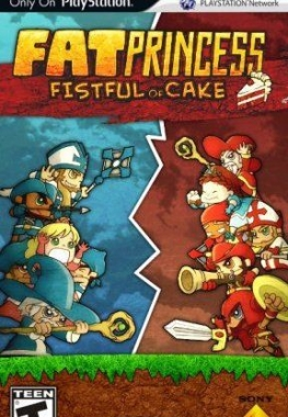 Fat Princess: Fistful of Cake [2009, Arcade, action]