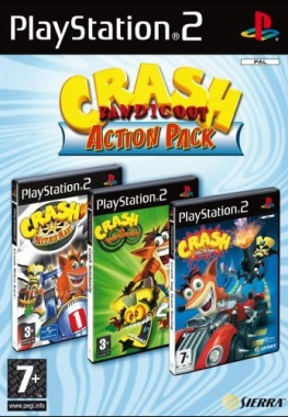 Crash Bandicoot Action Pack[2005/ENG]