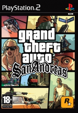 Grand Theft Auto: San Andreas (2004) PS2