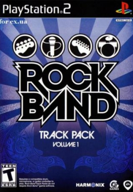 Rock Band Track Pack Volume (2008/PS2/ENG)