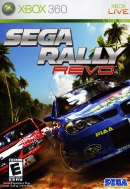 GOD Sega Rally Revo Region Free ENG