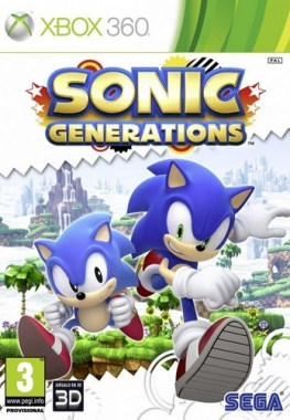 Sonic Generations Region FreeENG XGD3 LT+ 2.0
