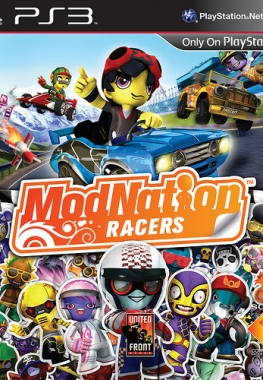 [PS3] ModNation Racers [PAL] [RUS] [RIP] [Релиз от R.G. Inferno]