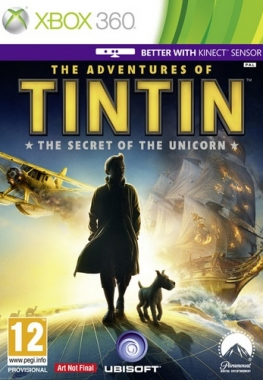 The Adventures of Tintin: The Game PALRUSSOUND XGD3 LT+ 2.0