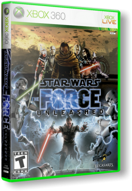 GOD Star Wars: The Force Unleashed Dashboard 2.0.13604 Region Free ENG