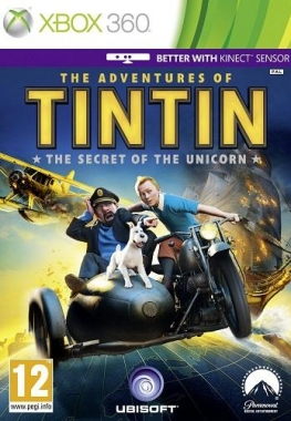 Приключения Тинтина: Тайна Единорога / The Adventures Of Tintin: The Game (2011/XBOX360/Rus)