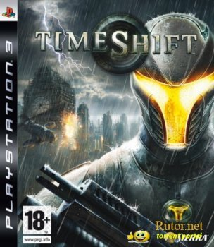 [PS3] TimeShift (2007) [FULLRip][RUS]