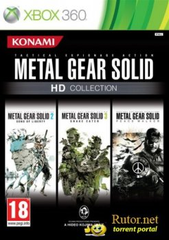 [Xbox 360] Metal Gear Solid HD Collection [PAL/ENG] (XGD3) (LT+2.0)