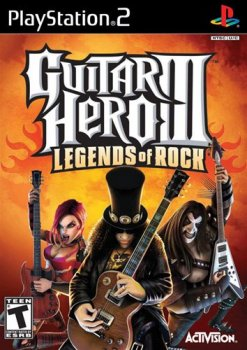[PS2] Guitar Hero III Legends of Rock [ENG] [NTSC] (2007)