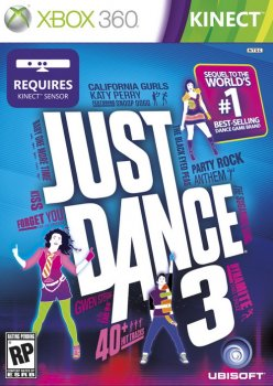 [Kinect]Just Dance 3[Region Free/ ENG] (XGD3) (LT+3.0) [Region Free / ENG]