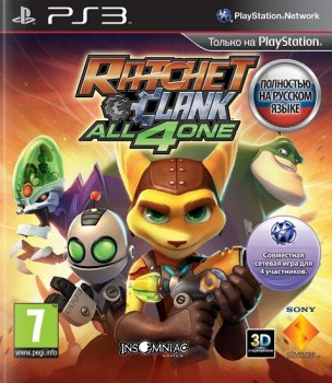 Ratchet & Clank: All 4 One [EUR/RUS] [TB]