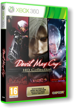 Devil May Cry HD Collection (2012) [Region Free][ENG][L] (LT+ 3.0) (XGD3)