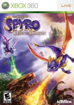 The Legend of Spyro: Dawn of the Dragon (2008) [Region Free] [RUS] [P]
