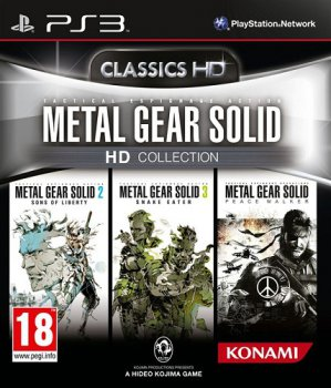 Metal Gear Solid HD Collection (2012) [FULL] [ENG] [L] (True Blue)