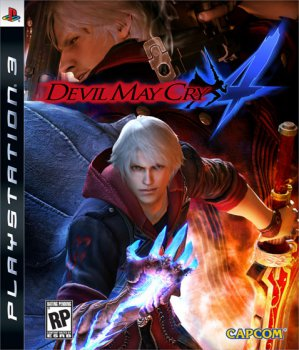 Devil May Cry 4 (2008) [FULL][ENG][RUSSOUND][P]