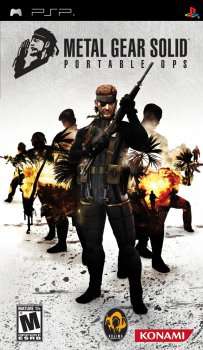Metal Gear Solid Portable Ops (2006) [ENG][CSO][FULL]
