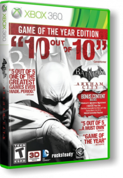 Batman Arkham City: Game of The Year Edition (2012) [Region Free][RUS][L] (XGD3) (LT+ 2.0)
