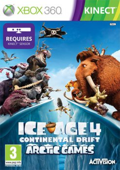 [Kinect] Ice Age 4: Continental Drift - Arctic Games (2012) [Region Free][ENG][L]