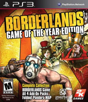 Borderlands: Game of the Year Edition (2011) [RUS][RUSSOUND][P]