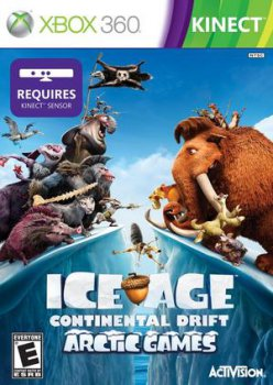 [Kinect] Ice Age 4: Continental Drift - Arctic Games [PAL] [RUSSOUND]