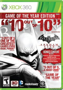 Batman Arkham City GotY DLC Pack [Region Free / RUS]