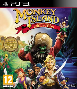 MONKEY ISLAND SPECIAL EDITION COLLECTION (2012) [FULL][ENG] [L] [3.55]