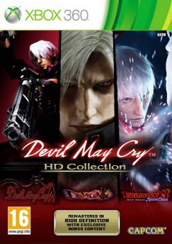 Devil May Cry HD Collection [ENG] (LT+2.0) (RegionFree) (XGD3) (2012)