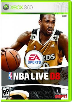 NBA Live 08 (2007) XBOX360