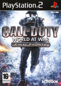 Call of Duty: World at War - Final Fronts (2008) PS2