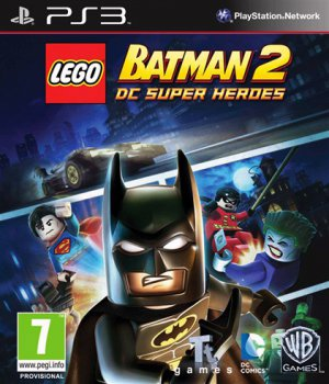 LEGO Batman 2: DC Super Heroes (2012) [FULL][RUS] [3.55][4.30CFW]