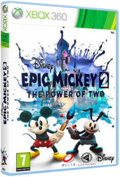 Epic Mickey 2: The Power of Two (2012) [PAL][RUS][RUSSOUND][L] (XGD 3) (LT+ 2.0)