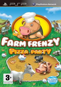 [PSP]Farm Frenzy: Pizza Party [RUS] (2012)