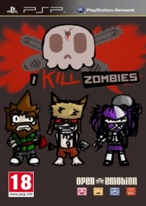 [PSP]I Kill Zombies [ENG](2012) [MINIS]