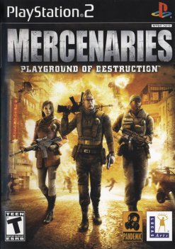 [PS2] Mercenaries - Playground of Destruction [ENG|NTSC]