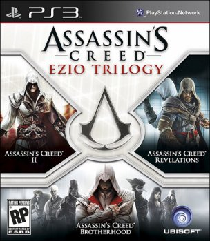 [PS3]Assassin's Creed Ezio Trilogy [USA/ENG][4.21CFW/4.30 CFW]
